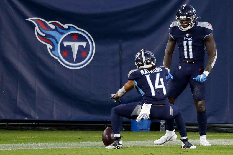 Kalif Raymond, Tennessee Titans