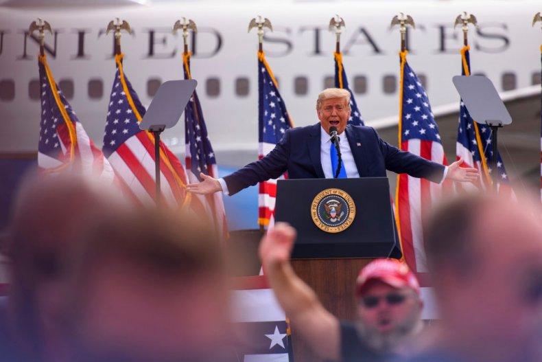 President Trump Speaks in North Carolina