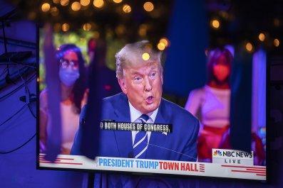 Donald Trump Miami town hall October 2020