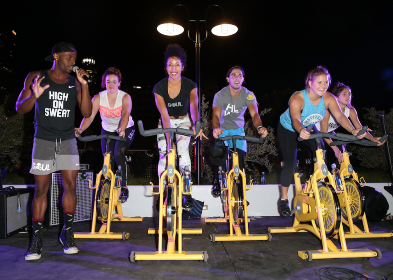 Boutique gym-branded fashion lines