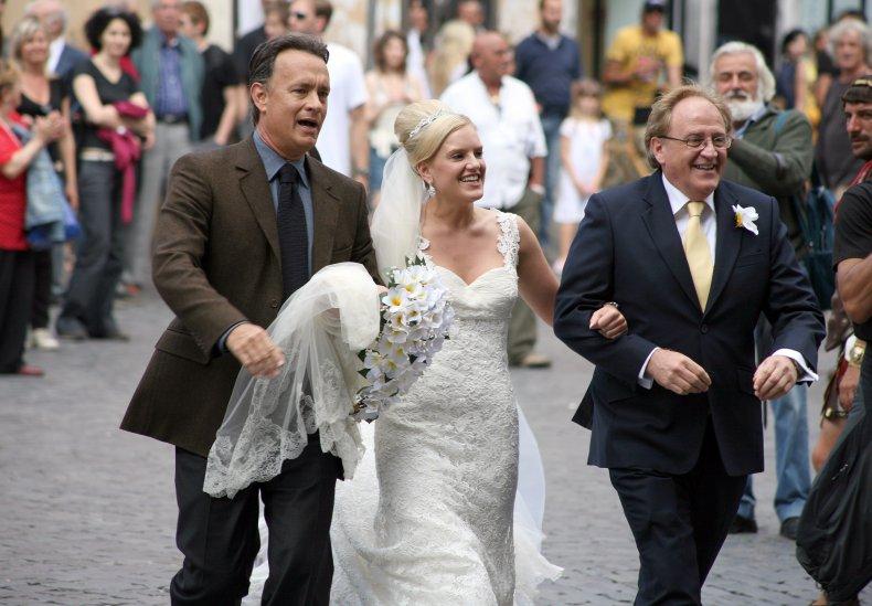 Tom Hanks Wedding