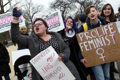 pro-life activists