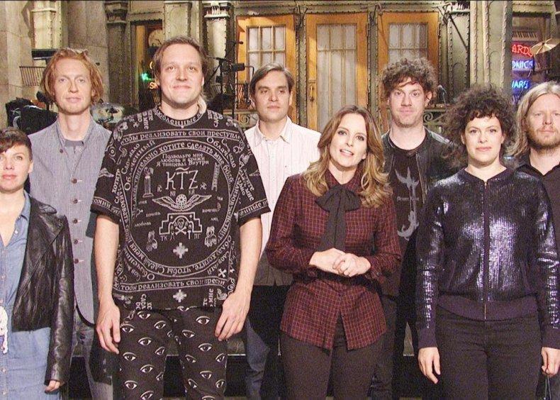 #87. Season 39, Episode 1 - Tina Fey/Arcade Fire