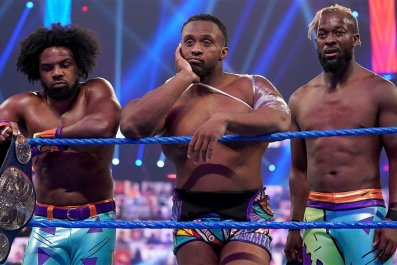wwe friday night smackdown new day breakup