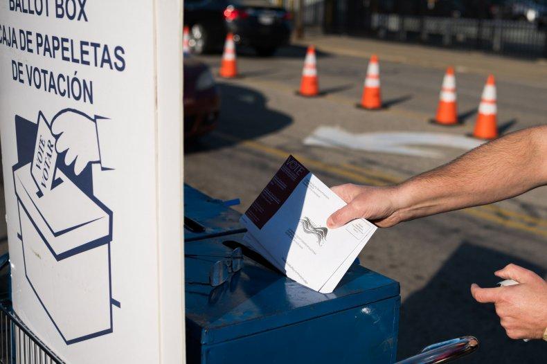 Absentee ballots, Cleveland