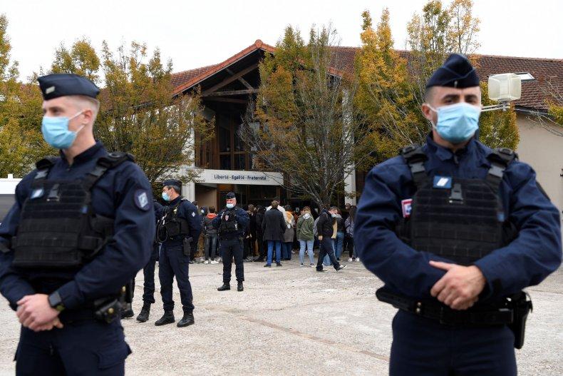 French school teacher death