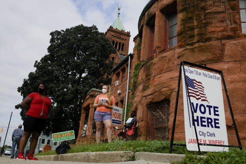 michigan polling place