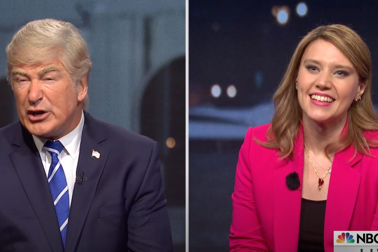 SNL Pulls No Punches at NBC's Trump Town Hall: 'We Have A Type'