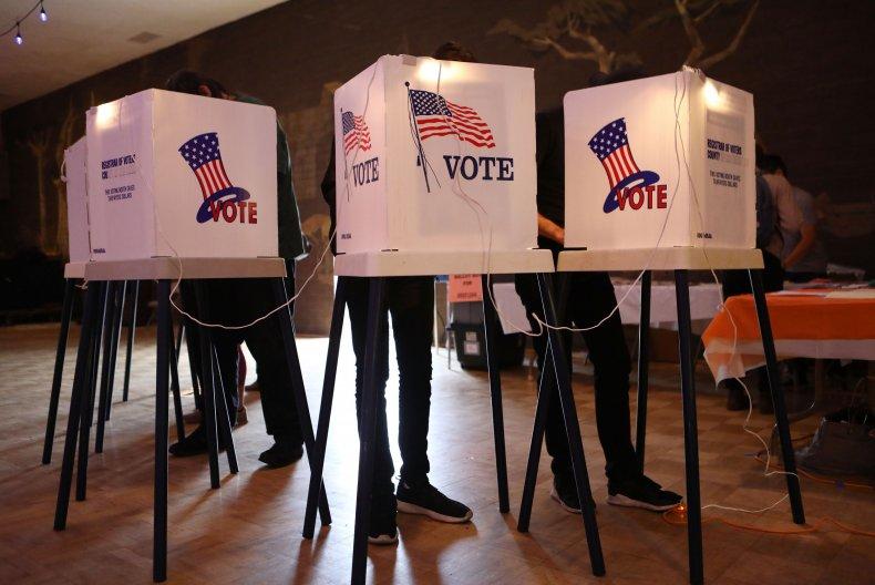 Polls Texas Voting