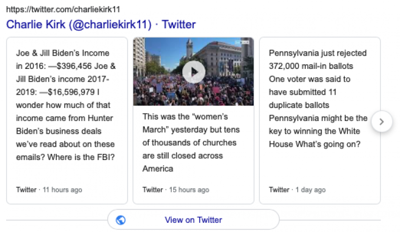 Charlie Kirk Twitter