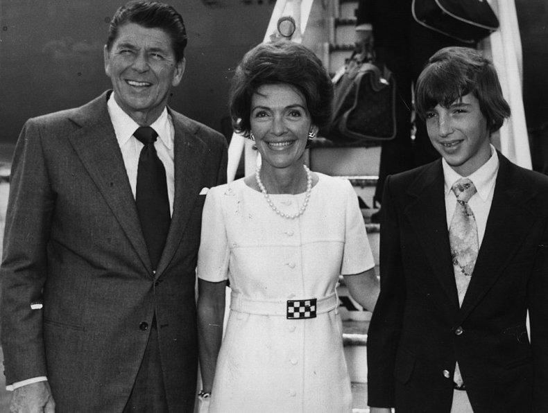 Ronald Reagan and family