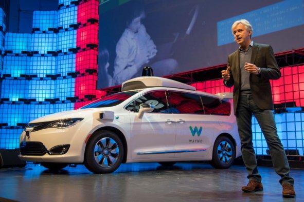 Waymo driverless cars