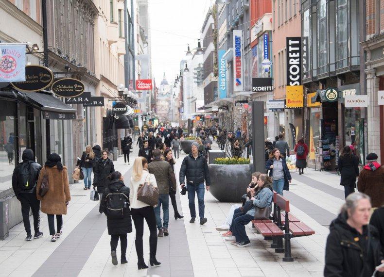 Stockholm Sweden April 2020