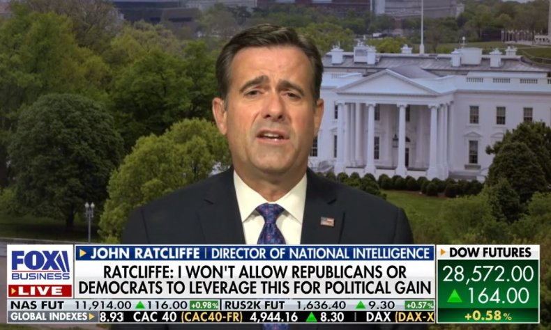 john ratcliffe hunter biden investigation