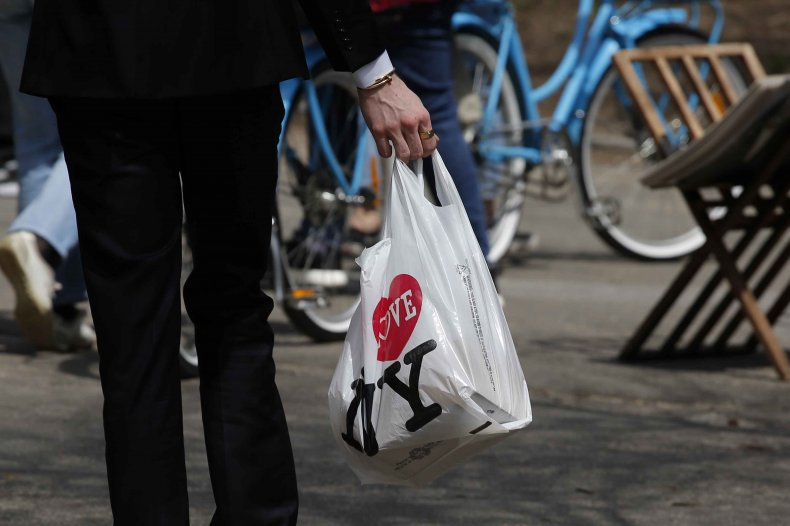 New York Plastic Bag