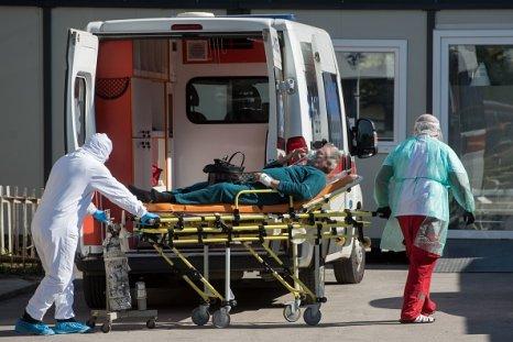 COVID-19 patient stretcher