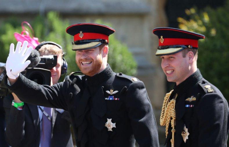 Prince Harry and Prince William, Royal Wedding
