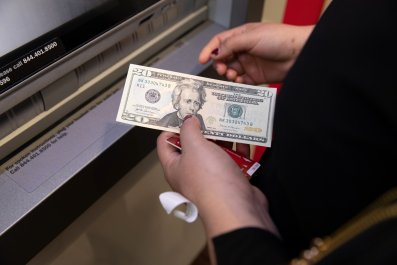 ATM bank cash