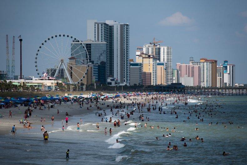South Carolina beach September 2020