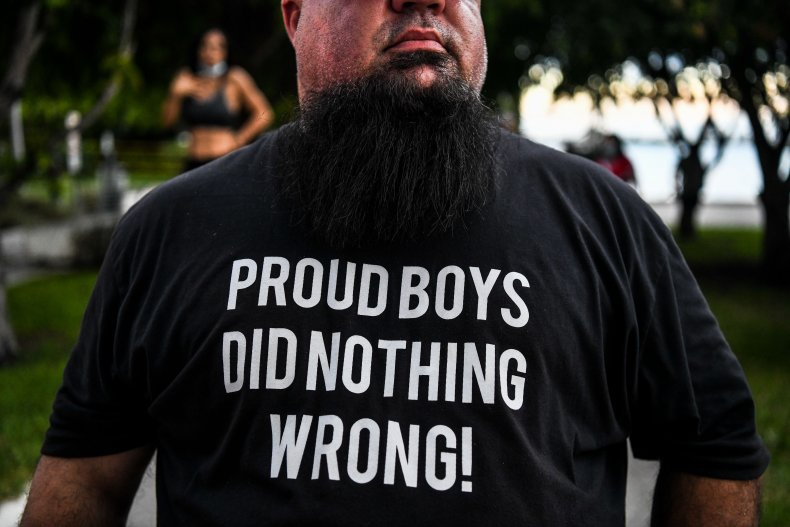 republicans trump men proud boys