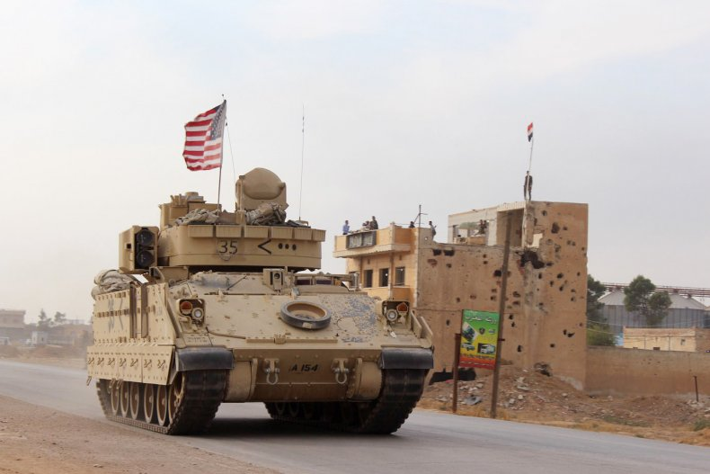 Syria USA Troops