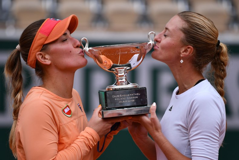 2020 French Open women's doubles champions