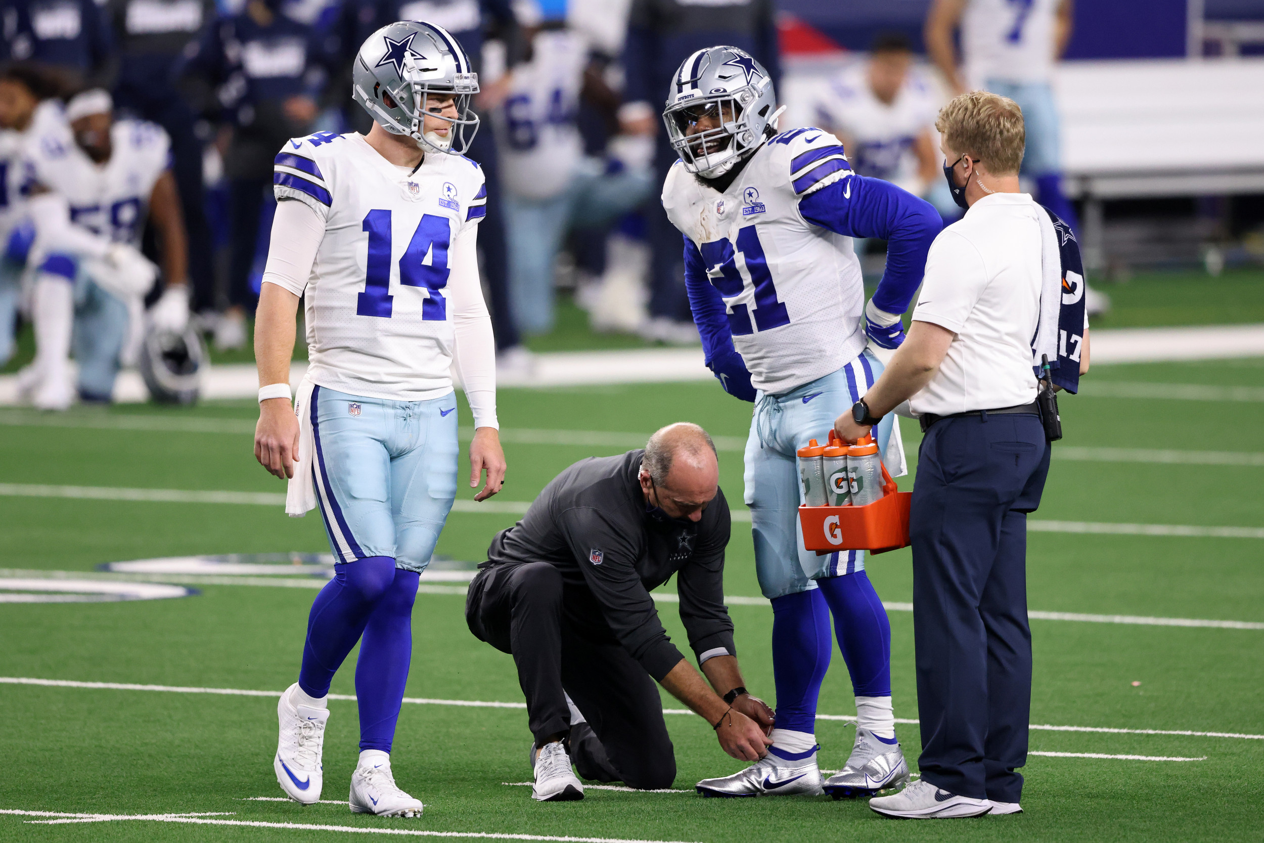 Dallas Cowboys suffer joint-worst defeat in history of AT&T Stadium