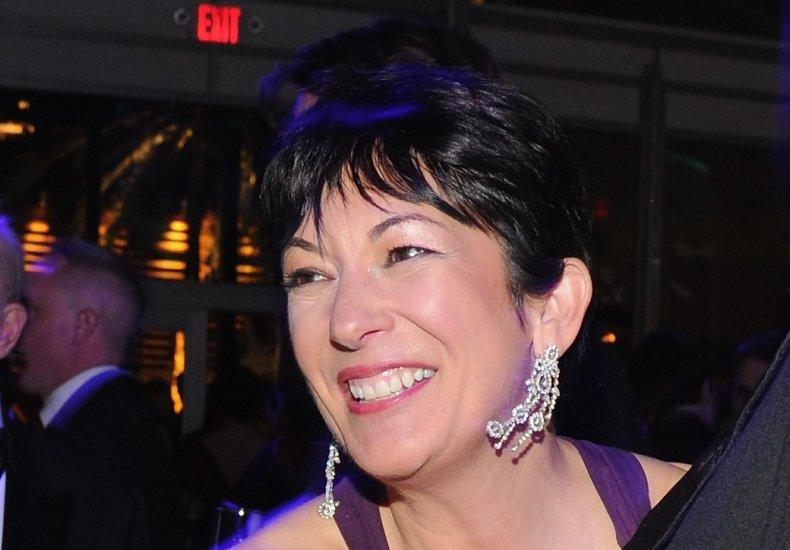 Ghislaine Maxwell, Vanity Fair Oscar Party 2014