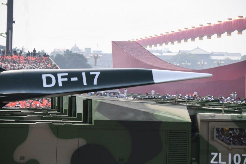 China military parade missile