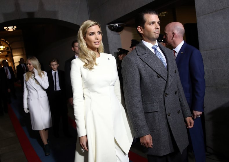 ivanka don jr