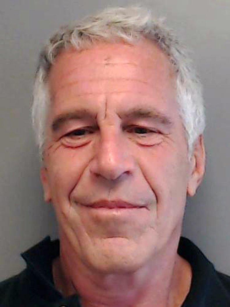 Jeffrey Epstein Florida Police Mugshot