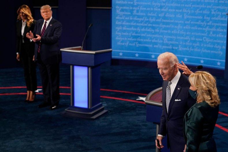The Trumps and Bidens at the Debate