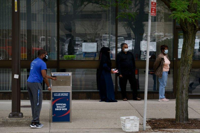 Michigan absentee voting
