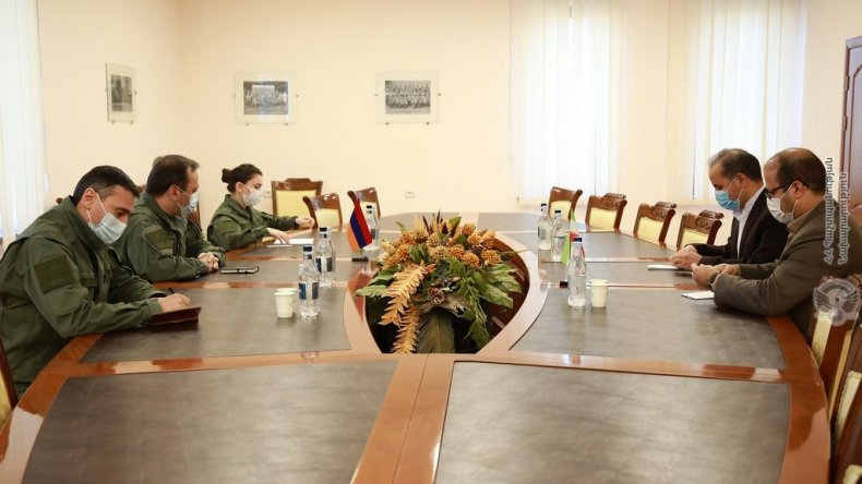 iran, armenia, defense, meeting, border