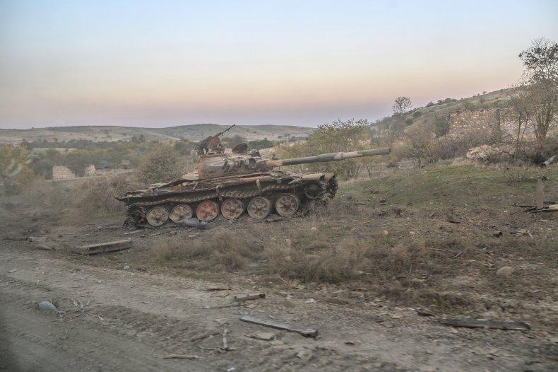 azerbaijan, armenia, nagorno, karabakh, battle