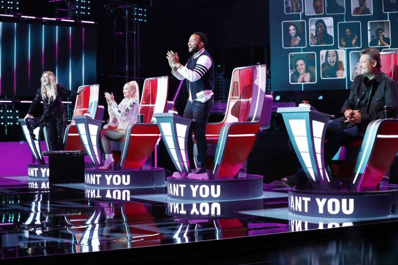 Who Made Teams on 'The Voice'?