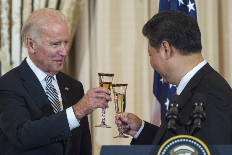 Former Vice President Joe Biden and Chinese