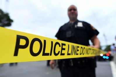 police tape officers