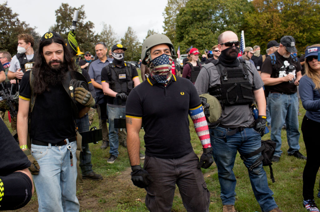 "Proud Boys member Tusitala ""Tiny"" Toese jailed after violating probation to attend rally"
