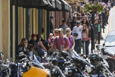 South Dakota Sturgis Motorcycle Rally August 2020