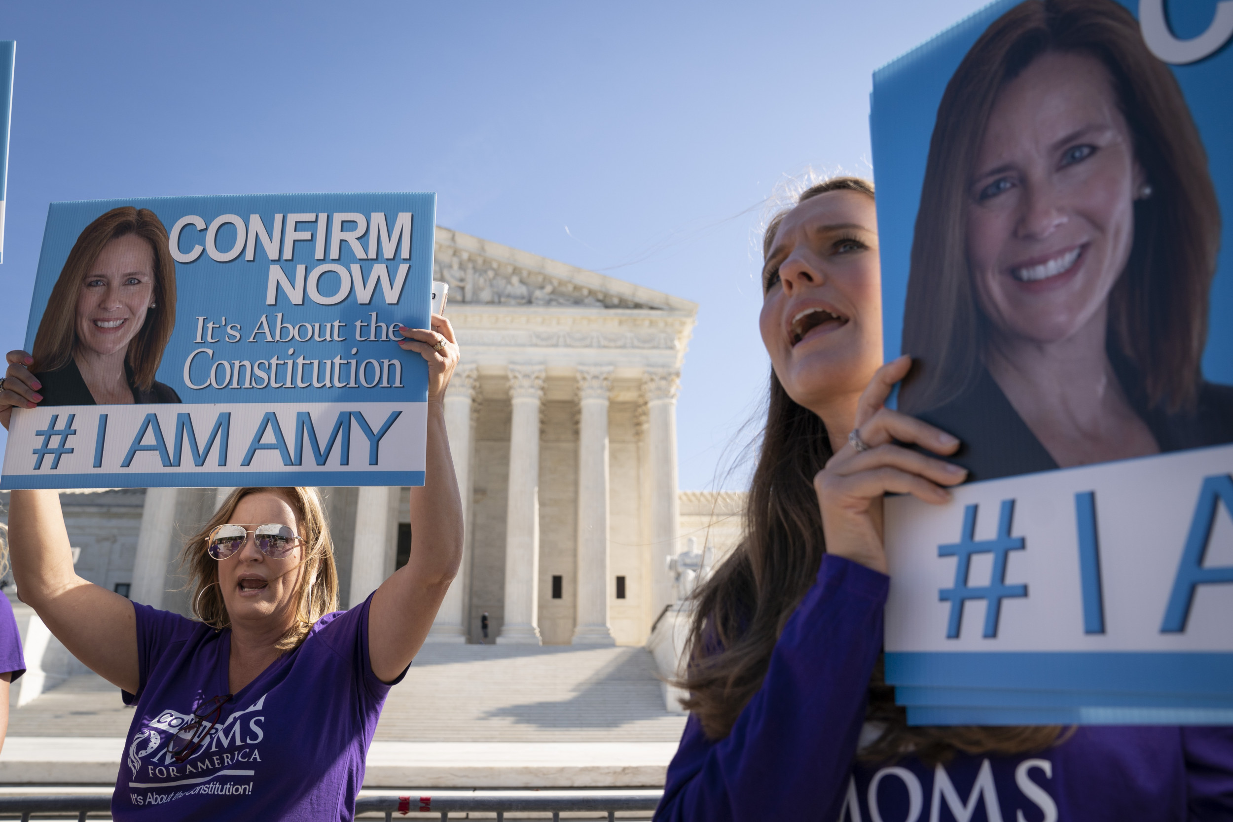 Democratic Support for Amy Coney Barrett Rises Nearly 20 Percent Since Her Nomination thumbnail