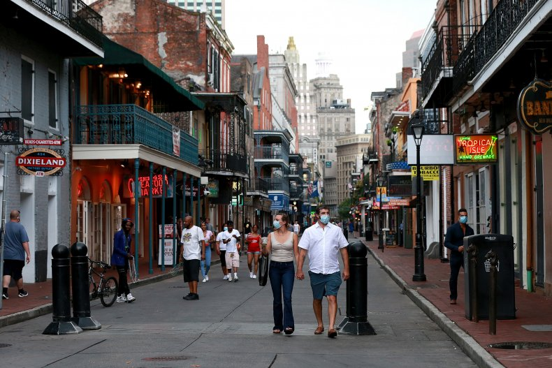 French Quarter, New Orleans, July 2020