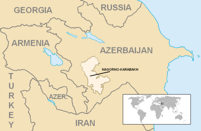 iran, armenia, azerbaijan, map, russia, turkey