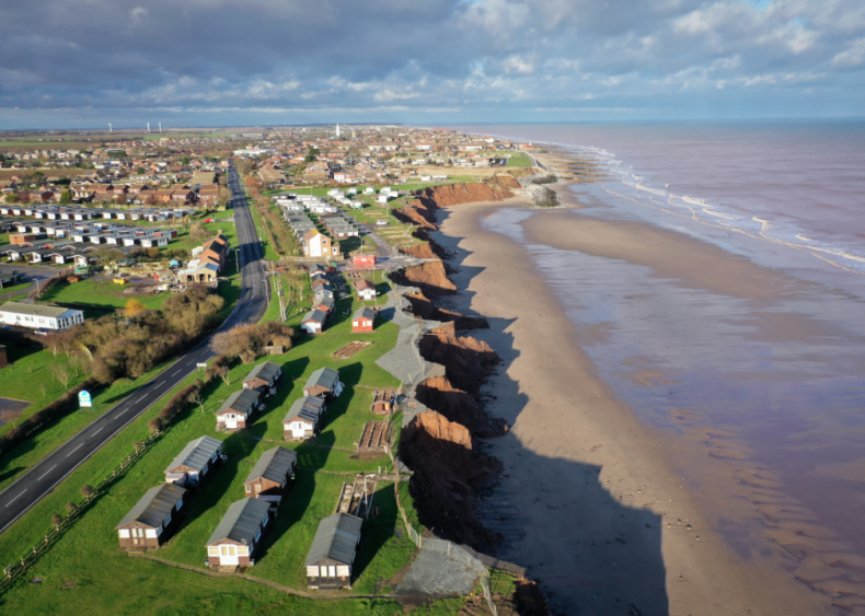 Coastal erosion in the United Kingdom