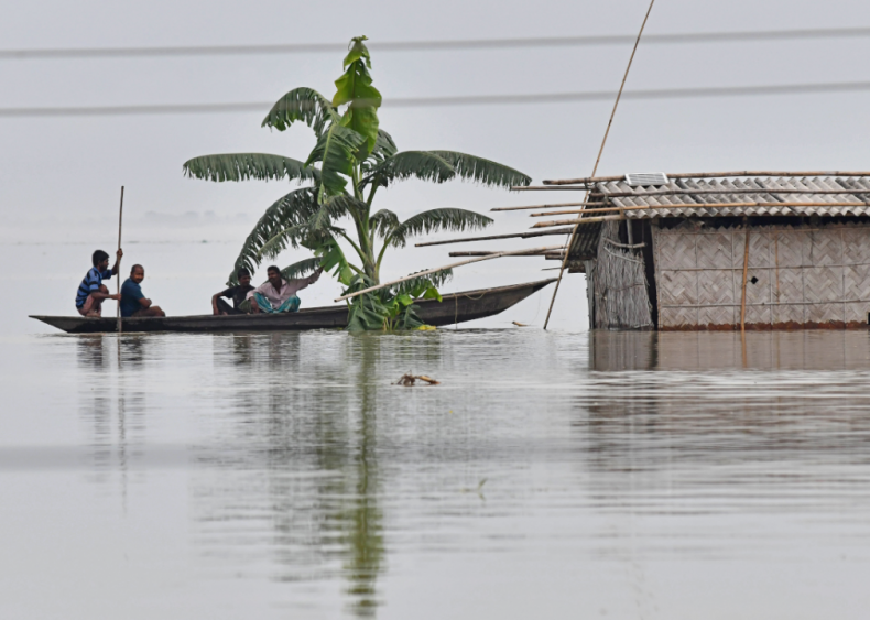 Monsoon floods affect millions in India and Bangladesh