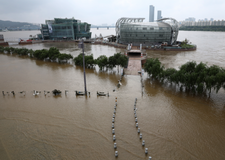 Deadly flooding in South Korea