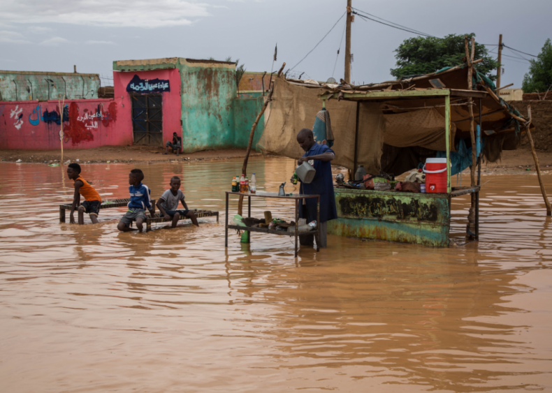 Widespread flooding in Sudan