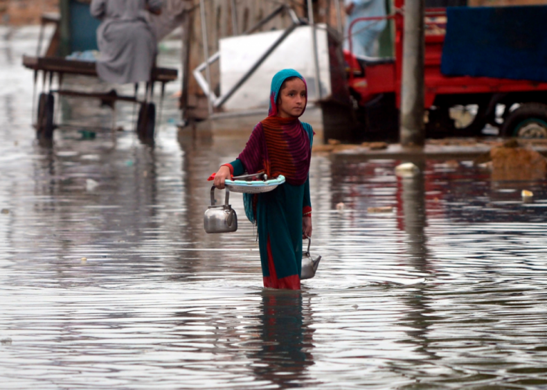 Widespread flooding in Pakistan and India
