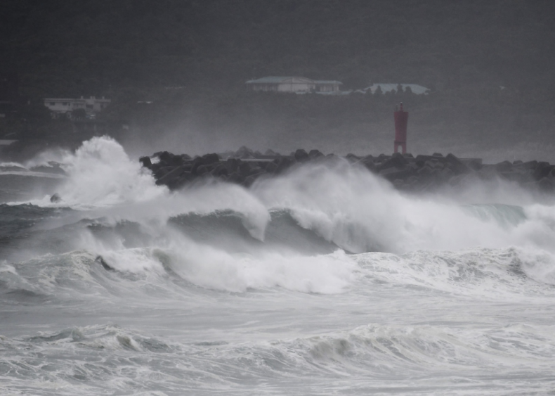 Super Typhoon Haishen hits Japan