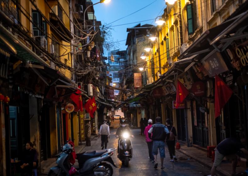 Vietnam imposes social distancing